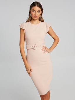 Ruffle City Dress