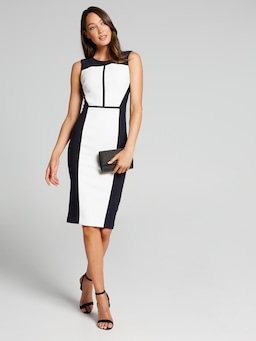 The Director Spliced City Dress