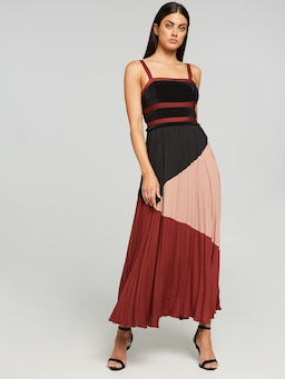 Almost Famous Micropleat Dress