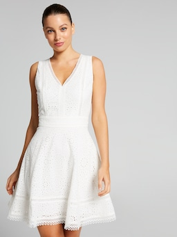 Sunsational Broderie Dress