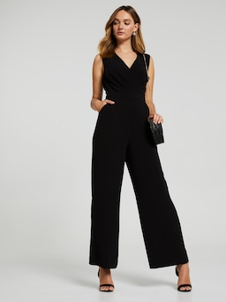 Willow Wrap Bodice Jumpsuit
