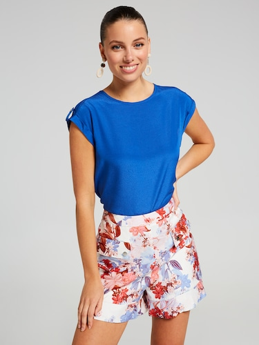 Rose Ruffle Short
