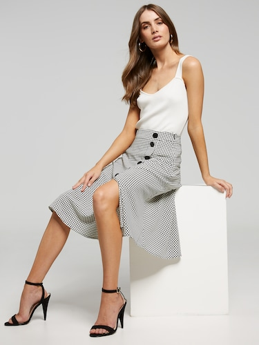 Forever Faithful Soft Skirt