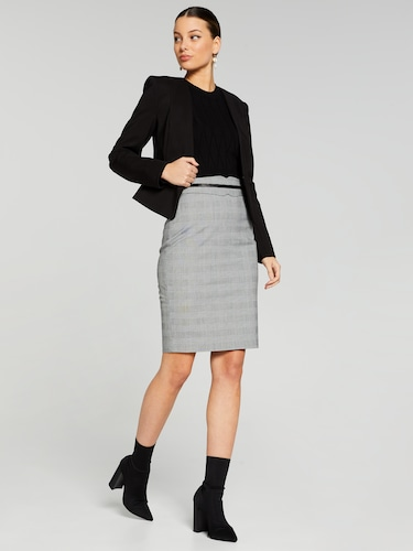 Penny Prince Of Wales Check Skirt
