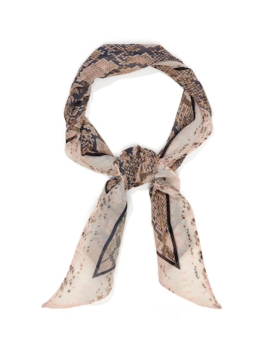 Essential Snake Diamond Scarf