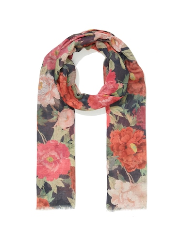 Vintage Floral Twill Scarf
