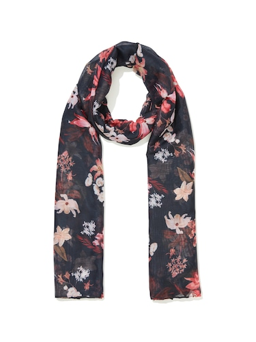 Ladylike Floral Scarf