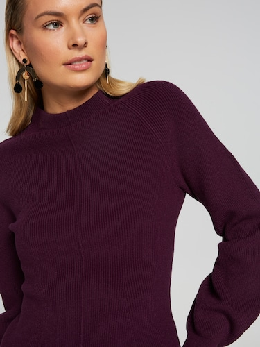 Remi Mock Neck Milano Knit