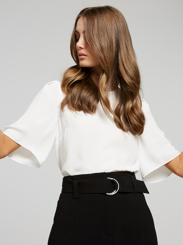 Dana Tuck Shoulder Shell Top
