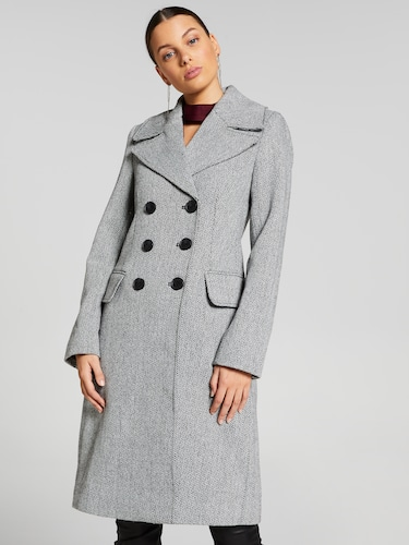 Atlantic Herringbone Coat