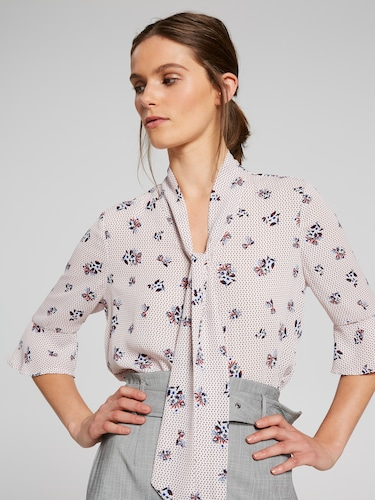 Analeise Pussy Bow Blouse