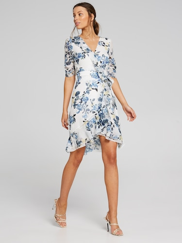 Bluebell Garden Wrap Dress