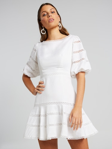 Sundown Linen Dress