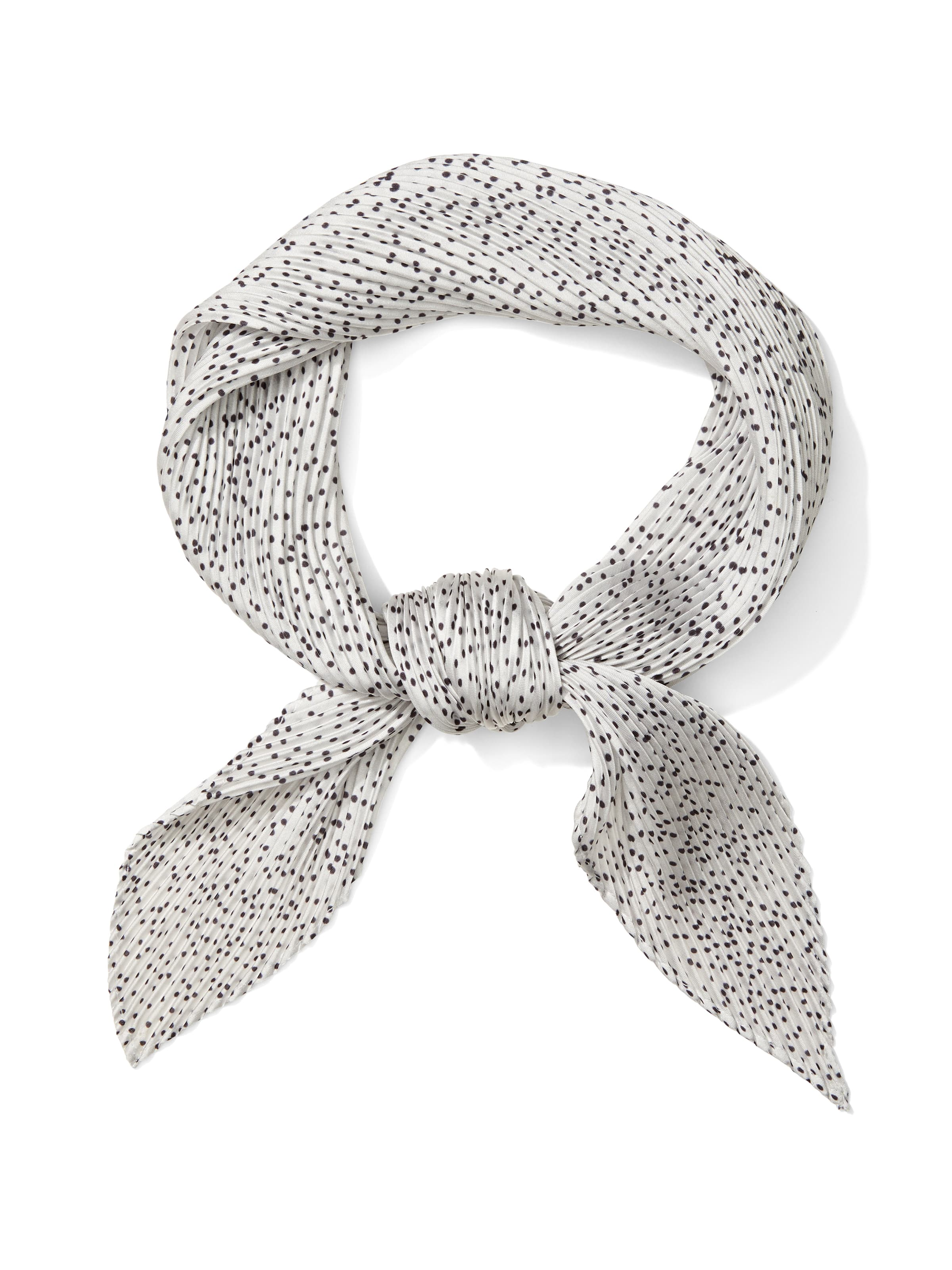 Micro Spot Pleat Neckerchief
