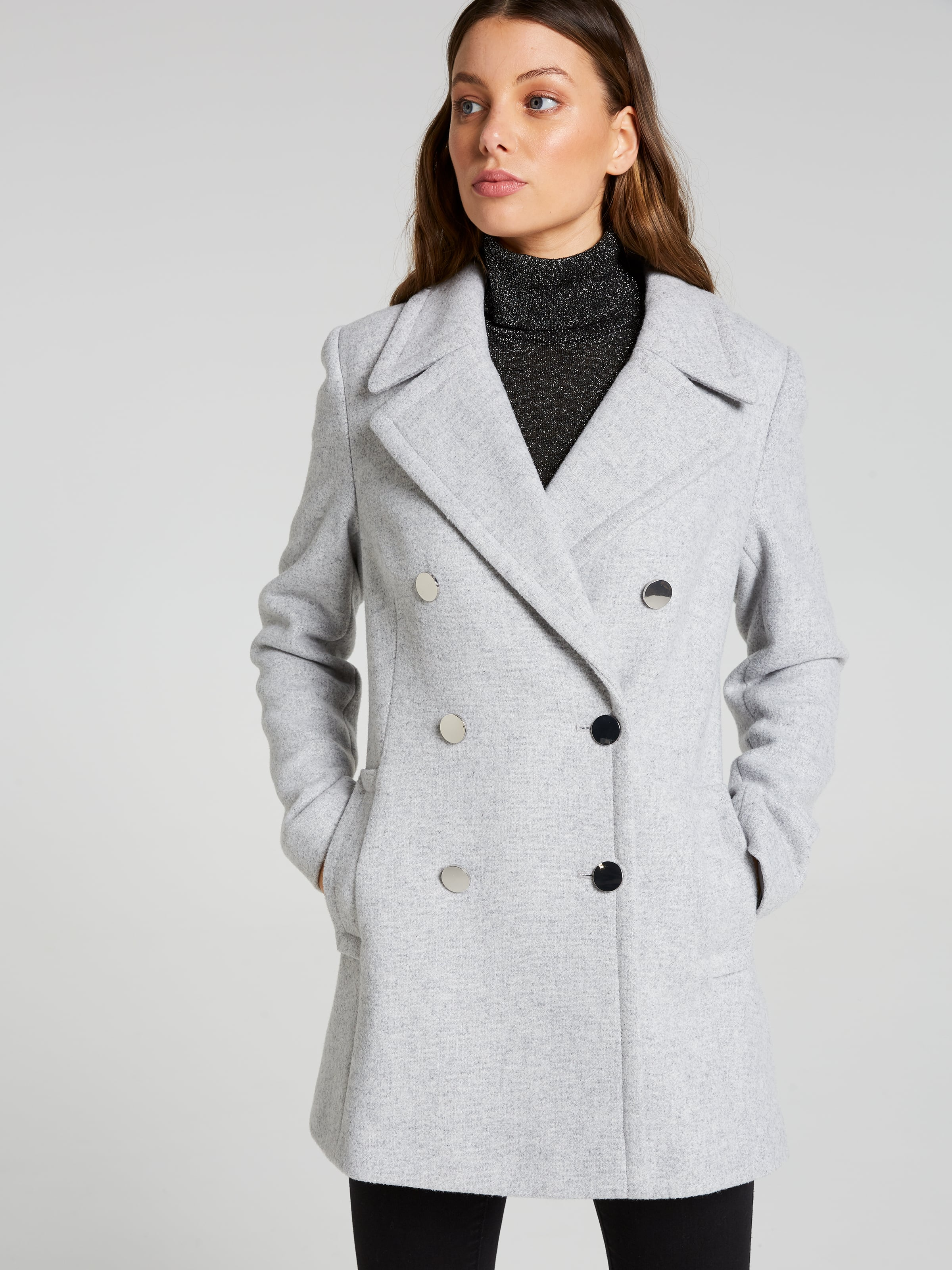 Vail Double Breasted Pea Coat