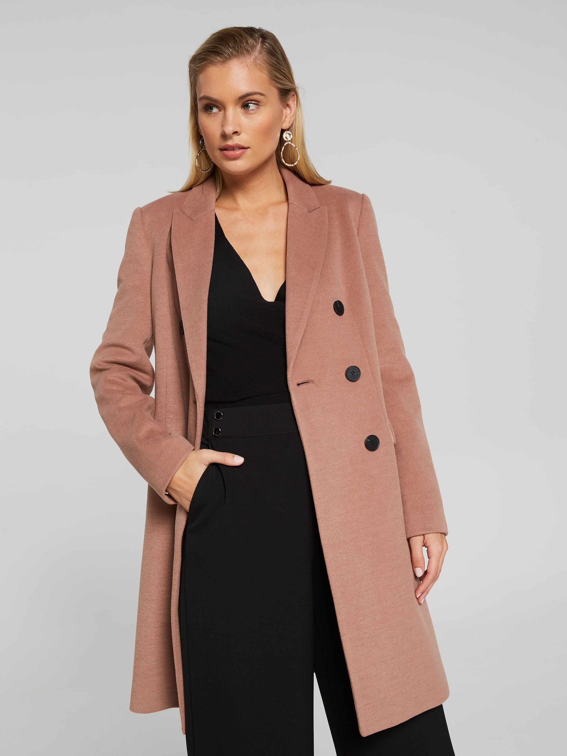 Oslo Double Breasted Coat