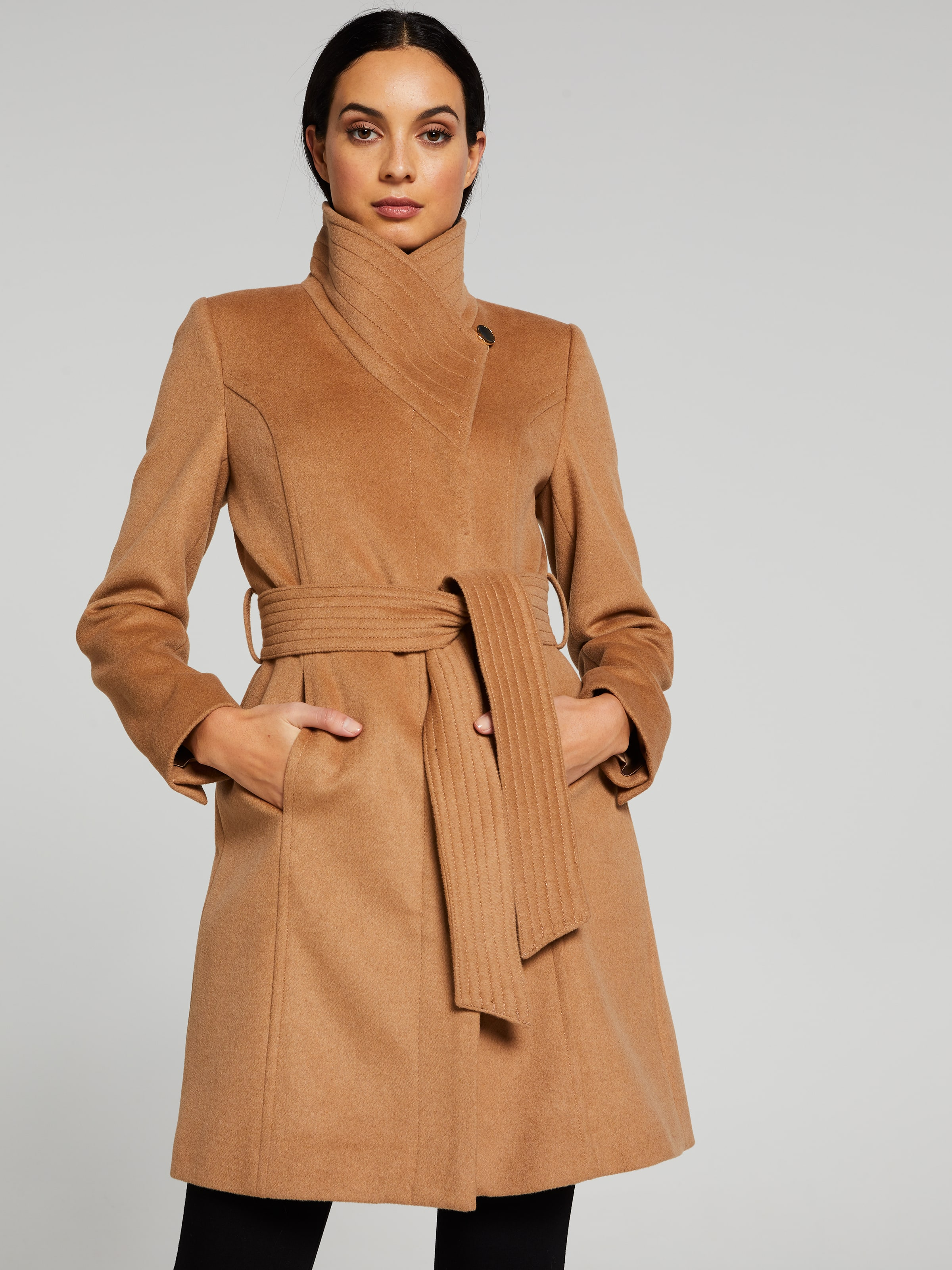 The Iceland Funnel Neck Coat
