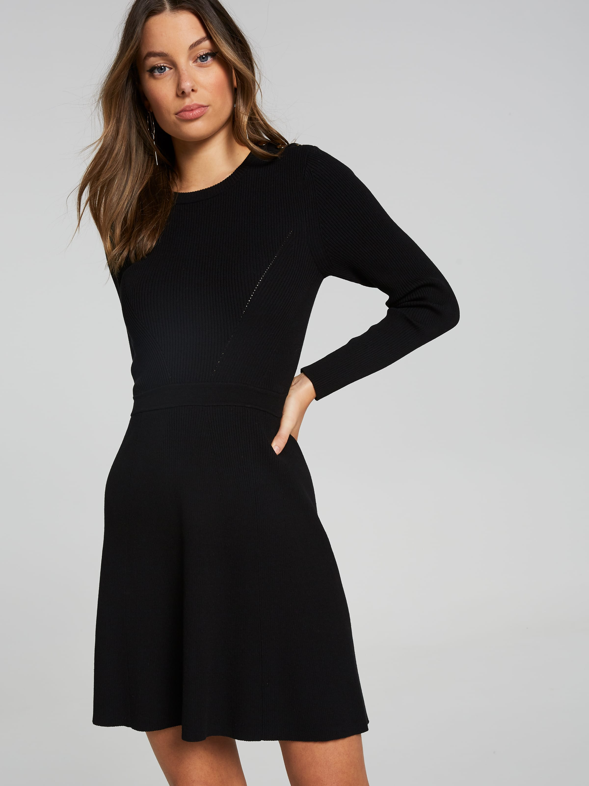 Morgan Milano Button Dress