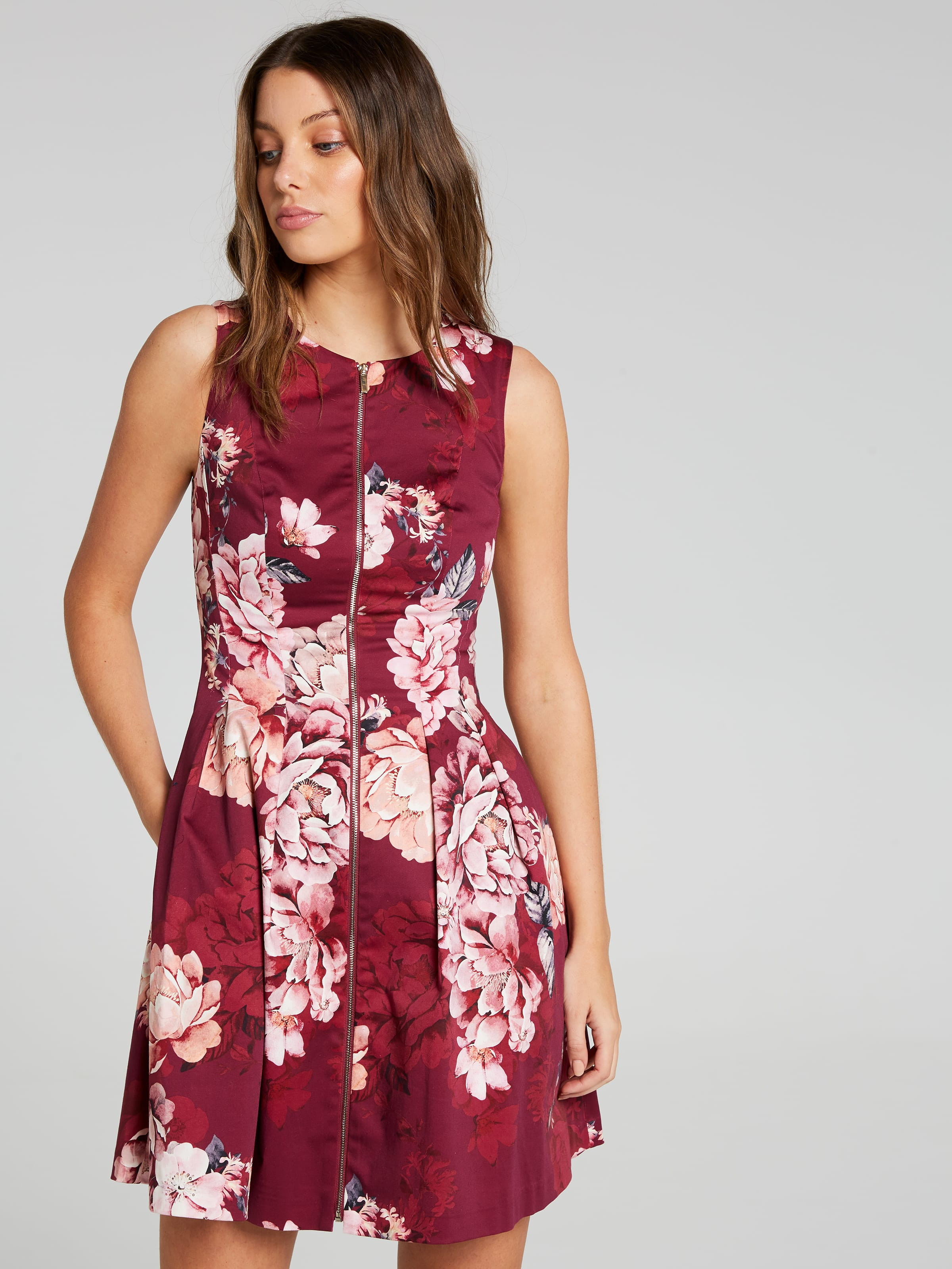 In Full Bloom Fit & Flare Dress