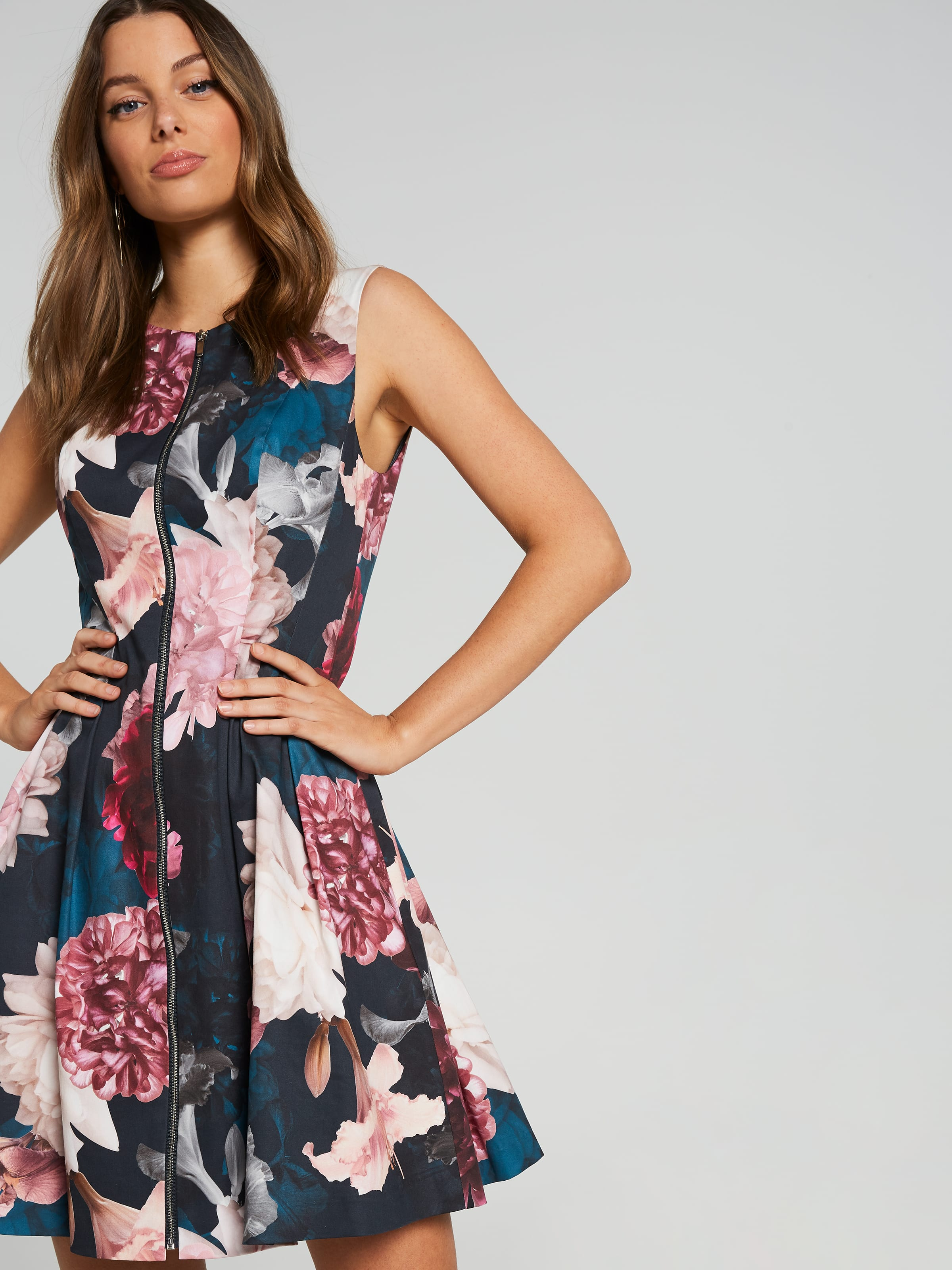 Shadow Floral Dress